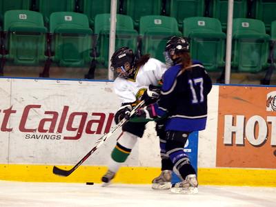 Midget Final Okotoks vs Edmonton Nov 22 2009