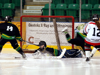 PeeWee A Final Ft Sask vs Okotoks Nov 22 2009