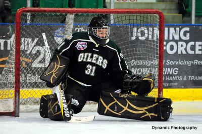 Okotoks Oilers vs Canmore Eagles Jan 20 2012