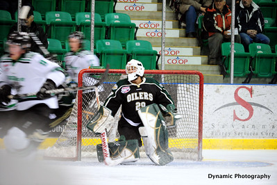 Okotoks Oilers vs Drayton Valley Thunder Jan 13 2012
