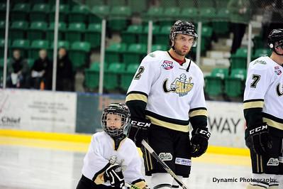 Okotoks Oilers vs Drumheller Dragons Feb 24 2012