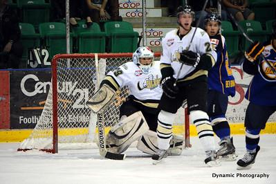 Okotoks Oilers vs Ft McMurray Oil Barons Sept 25 2011