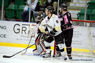 Okotoks Oilers vs Bonnyville Pontiacs Oct 27 2012