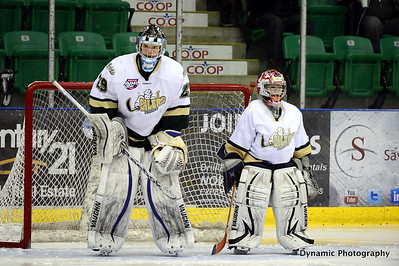 Okotoks Oilers vs Drumheller Dragons Nov 23 2012