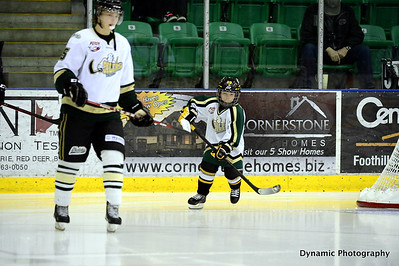 Okotoks Oilers vs Drumheller Dragons Dec 15 2012