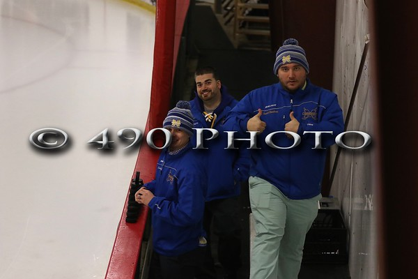 Hockey Playoffs - MHS vs L/P Rebels - 2/19/17