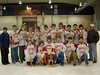 NYSAHA Tier III Northern Zone State Sectionals Champions - Saranac Lake Red Storm Bantams