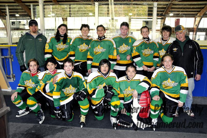 2008-2009 White Plains Plainsmen Pee Wee B1 team photo