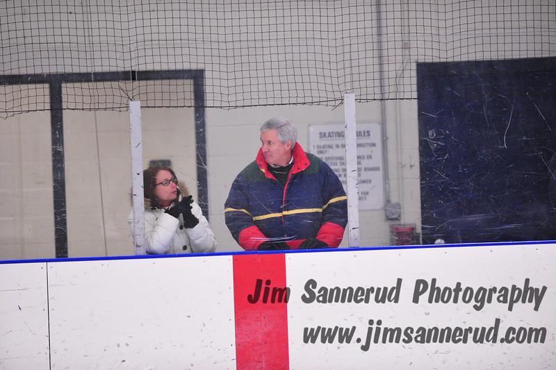 White Plains Plainsmen vs. Rye Rangers at Rye Country Day, Pee Wee hockey, February 2010.