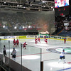 Czechs take the ice against Finland
