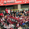 The most numerous, the most vocal, the most enthusiastic, the Latvians!