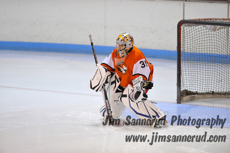 White Plains vs. Mamaroneck at Hommocks Modified Ice Hockey
