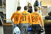 My friends are better than your friends. They paint their bodies in our team colors and write my name and number on their backs. They come to my hockey game and take off their shirts when it's 25 degrees at our outdoor rink and cheer for me. Yes, my friends are crazy. <br /> <br /> White Plains High School Tigers vs. Pelham Pelicans Varsity Ice Hockey at Ebersole Ice Rink, Thursday, January 10, 2013, White Plains lost 3-2