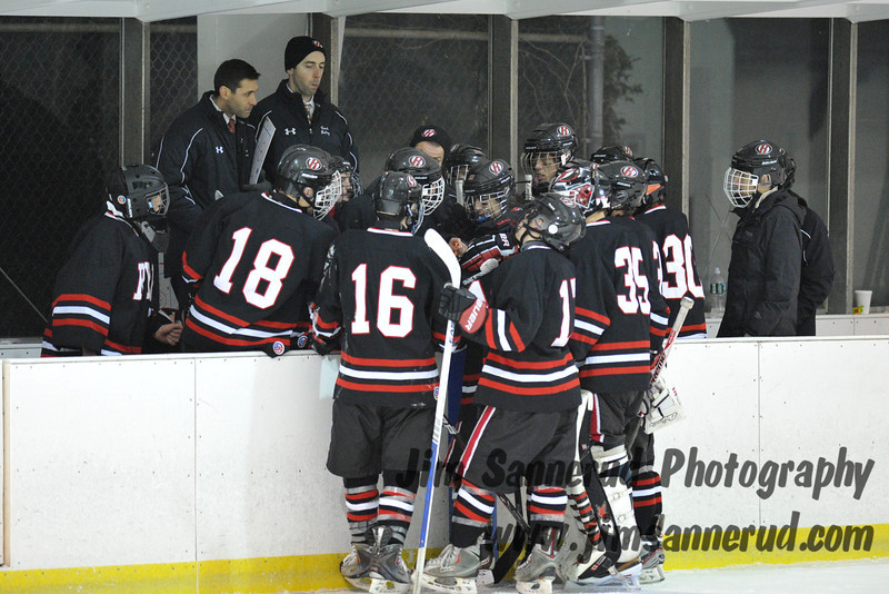 White Plains High School Tigers vs. Rye Garnets Varsity Ice Hockey at Ebersole Ice Rink, Thursday, January 3, 2013, White Plains lost 6-5 in OT.