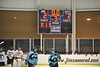 Game tied 2-2 at the end of regulation time. White Plains High School Tigers varsity ice hockey team upset the defending NY State champion Suffern Mounties 3-2 in overtime at Ebersole Ice Rink on Thursday, December 6, 2012