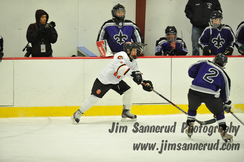 White Plains High School Tigers vs. New Rochelle Huguenots Varsity Ice Hockey Section 1 Division 1 Quarterfinal