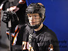 Freshman defenseman Liam Broderick, #16. White Plains High School Tigers vs. Mamaroneck Tigers Varsity Ice Hockey at Hommocks Park Ice Rink, Friday, December 21, 2012, White Plains lost 3-1