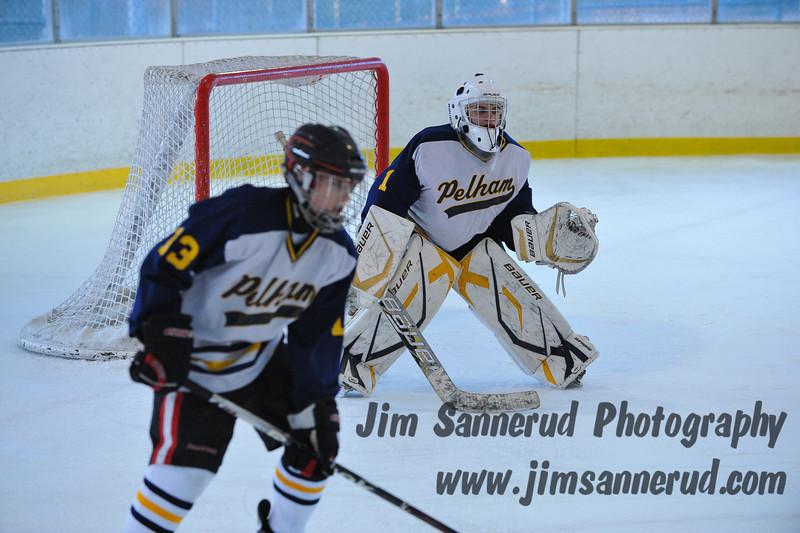 White Plains vs. Pelham at Ebersole Modified Ice Hockey, February 13, 2012