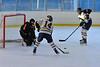 Two on none. Looks like a sure goal. White Plains vs. Pelham at Ebersole Modified Ice Hockey, February 13, 2012
