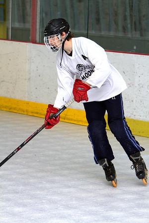 RMU,  IN-LINE Hockey, Moon, 006/02/2014