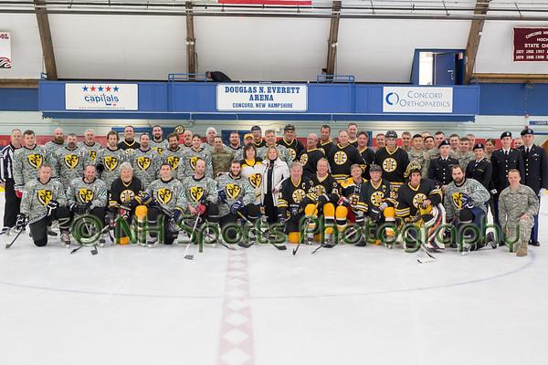 Cmar - Bruins Alumni game