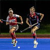 Pegasus record a 2 - 1 win against Belfast Harlequins in the EYHL on Wednesday evening at The Dub
