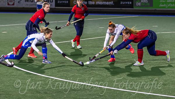 02-02-2021: Hockey: Kampong D1 v Laren D1: Utrecht