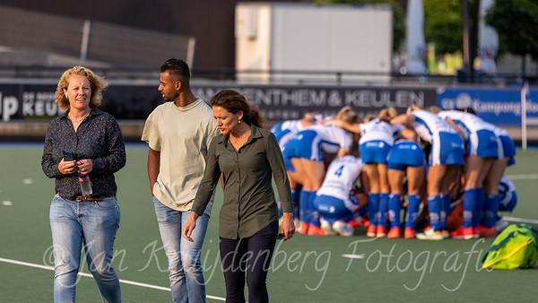 Kampong D1 v Tilburg D1 - Friendly game Dutch Women's Hockey