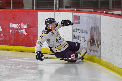Oct 15, 2107 Calgary Mustangs host the Grande Prairie Storm