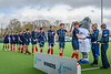 15th March 2019 at the National Hockey Centre, Glasgow Green. Scottish Hockey Senior Schools Finals. <br /> The Aspire Boys Plate winners - Merchiston Castle School