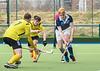 13 March 2020 at the National Hockey Centre, Glasgow Green.  Scottish Hockey Senior Schools Finals - Senior Boys Plate - Bellahouston/GSOS v Glenalmond College