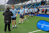 24 September 2017 at the National Hockey Centre, Glasgow Green. <br /> Boys Interdistrict Tournament 2017 - under 18s winners - East
