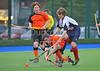 24 September 2016 at the National Hockey Centre, Glasgow Green.<br /> Scottish Hockey Youth Interdistrict tournament - under 16s -<br /> Highland v North
