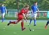 25 September 2016 at the National Hockey Centre, Glasgow Green.<br /> Scottish Hockey Youth Interdistrict tournament - under 18s - West v Midland