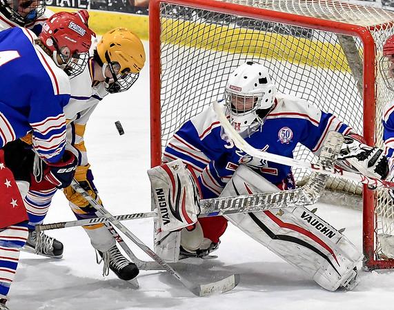 New Hartford at CBA/JD Division II Quarterfinals - Boys Hockey - Feb 17, 2017
