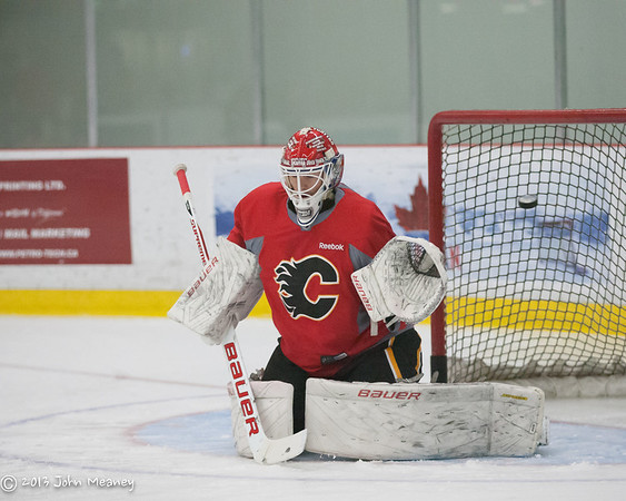 Calgary Flames - development camp July 15, 2013