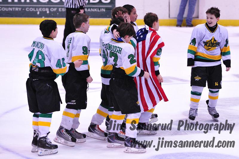 White Plains Plainsmen vs. Bridgewater Bears, Gold medal game, CanAm Tournament, March 2010, Lake Placid, NY