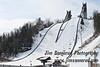 Olympic ski jump center in Lake Placid, NY