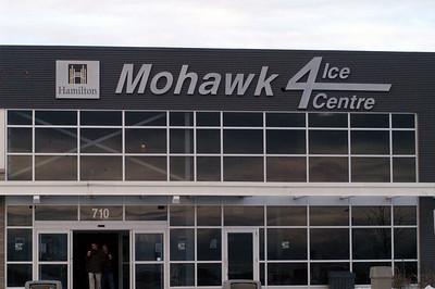 Mohawk Quad Plex Ice Centre ... site of the Bishop Tonnos 3 on 3 Tournamnet