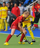 3 May 2014. Champions Challenge 1 Hockey Tournament At the National Hockey Centre, Glasgow Green.<br /> <br /> Belgium v India