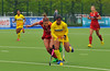 3 May 2014. Champions Challenge 1 Hockey Tournament At the National Hockey Centre, Glasgow Green.<br /> Belgium v India