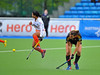 30 April 2014. Champions Challenge 1 Hockey Tournament At the National Hockey Centre, Glasgow Green.<br /> India v Belgium
