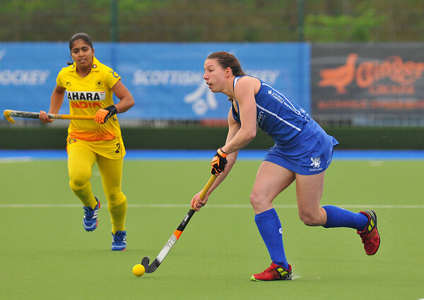 4 May 2014. Champions Challenge 1 Hockey Tournament At the National Hockey Centre, Glasgow Green.<br /> <br /> 7/8th Classification Match - India v Scotland