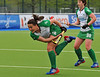 28 April 2014. Four Nations Hockey Tournament At the National Hockey Centre, Glasgow Green.<br /> <br /> Ireland v Spain