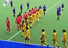 27 April 2014. Champions Challenge 1 Hockey Tournament at the National Hockey Centre, Glasgow Green.<br /> S Korea v India