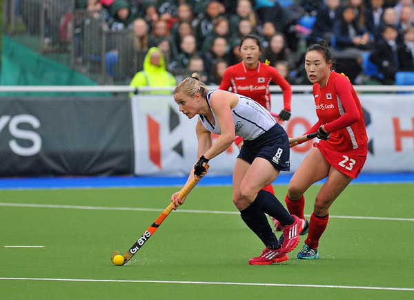 30 April 2014. Champions Challenge 1 Hockey Tournament At the National Hockey Centre, Glasgow Green.<br /> <br /> Scotland v Korea