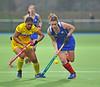 28 April 2014. Four Nations Hockey Tournament At the National Hockey Centre, Glasgow Green.<br /> <br /> Scotland v India