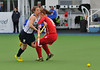3 May 2014. A classification match in the Champions Challenge 1 Hockey Tournament at the National Hockey Centre, Glasgow Green.<br /> <br /> Korea v Scotland