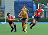 28 April 2014. Champions Challenge 1 Hockey Tournament At the National Hockey Centre, Glasgow Green.<br /> <br /> USA v S Africa