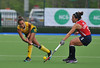 28 April 2014. Champions Challenge 1 Hockey Tournament At the National Hockey Centre, Glasgow Green.<br /> USA v S Africa